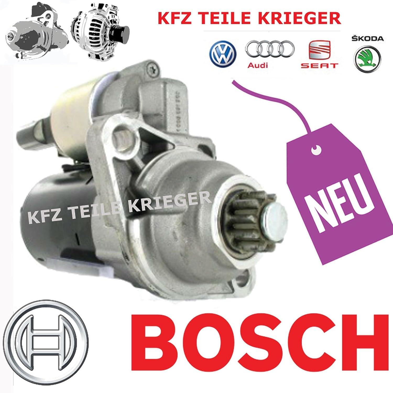 Amazon.com: Audi A3 Sportback Skoda VW BOSCH Starter Motor 12V 1.6 ...