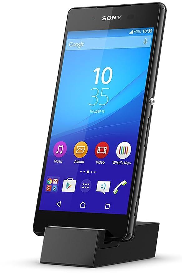 Sony Mobile DK52 Micro USB Dockingstation Ständer Stand Kompatibel mit Sony Xperia Z5/Z5 Compact/Z5 Premium/Z5 Premium Dual,