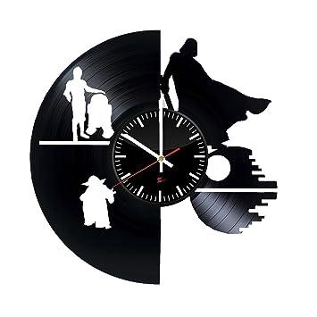 Raumoper Film Entwurf Vinyl   Schallplatte Wanduhr U2013 Einzigartige Zimmer  Wanddeko U2013 Geschenk Ideen Für Erwachsene