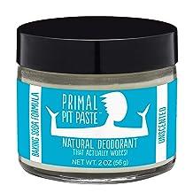 PRIMAL PIT PASTE All Natural Deodorant