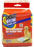 Shout for Pet Stains Super Absorbent Oxy Pickup Pads, Fresh Scent