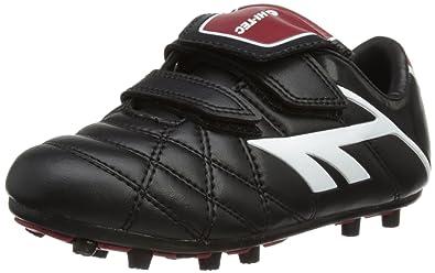 d28a72365e33 Hi-Tec Unisex-Child League Pro Moulded EZ Football Boots - Black (Black