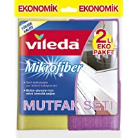 Vileda Mikrofiber Mutfak + Konfor Bez, 2'li Paket