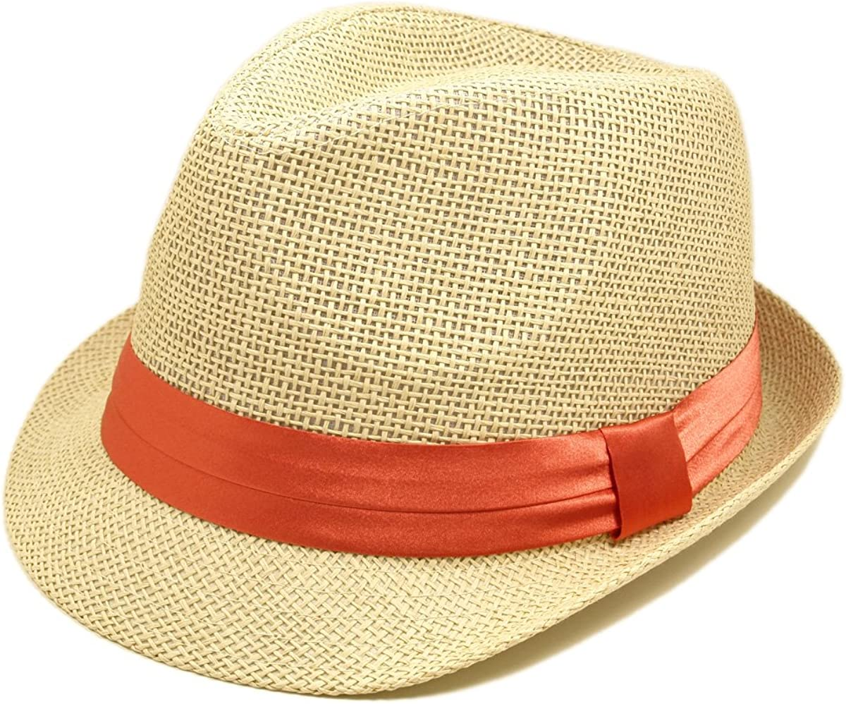 TrendsBlue Natural Fedora...