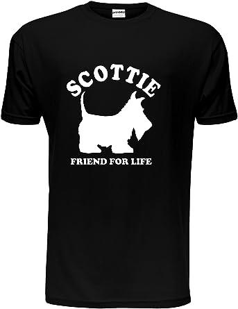 Scottie Dog Lover Pet  Mens T-Shirt Gift Size S-XXL
