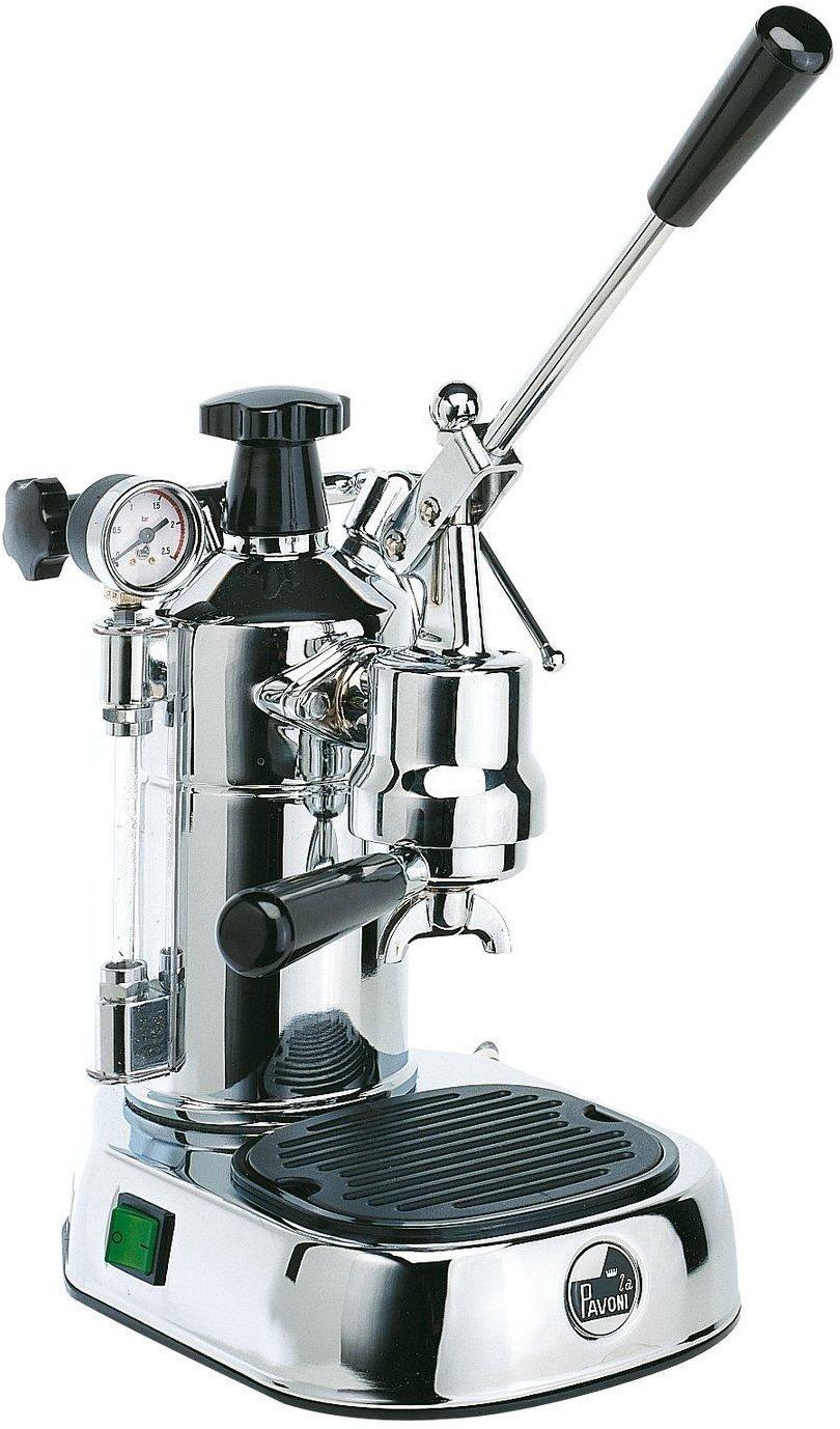 La Pavoni PLQ Professional Lusso máquina para café espresso Color Cromo: Amazon.es: Hogar