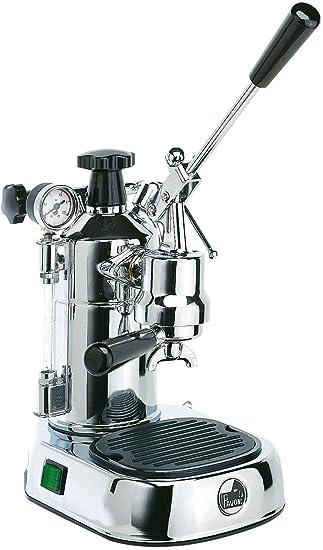 La Pavoni PLQ Professional Lusso máquina para café espresso Color Cromo