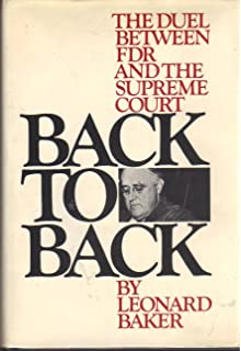John marshall a life in law leonard baker 9780025063600 amazon back to back the duel between fdr and the supreme court fandeluxe Choice Image
