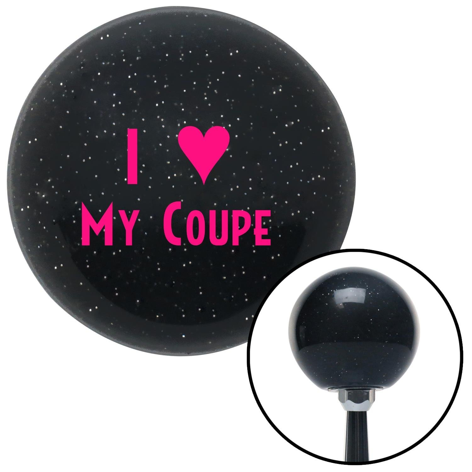 American Shifter 71560 Black Metal Flake Shift Knob with M16 x 1.5 Insert Pink I 3 My Coupe