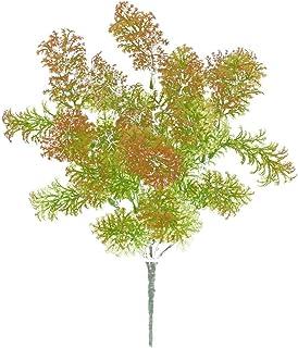 pu ran Albero di muschio di plastica erba pianta artificiale Home Office party decorazione mobili Green + White