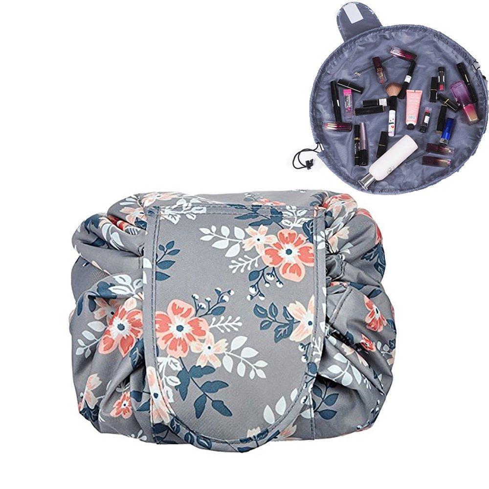 cec031fa3aca Amazon.com : Westspark Travel Cosmetic Bags, Lazy Makeup Storage Bag ...