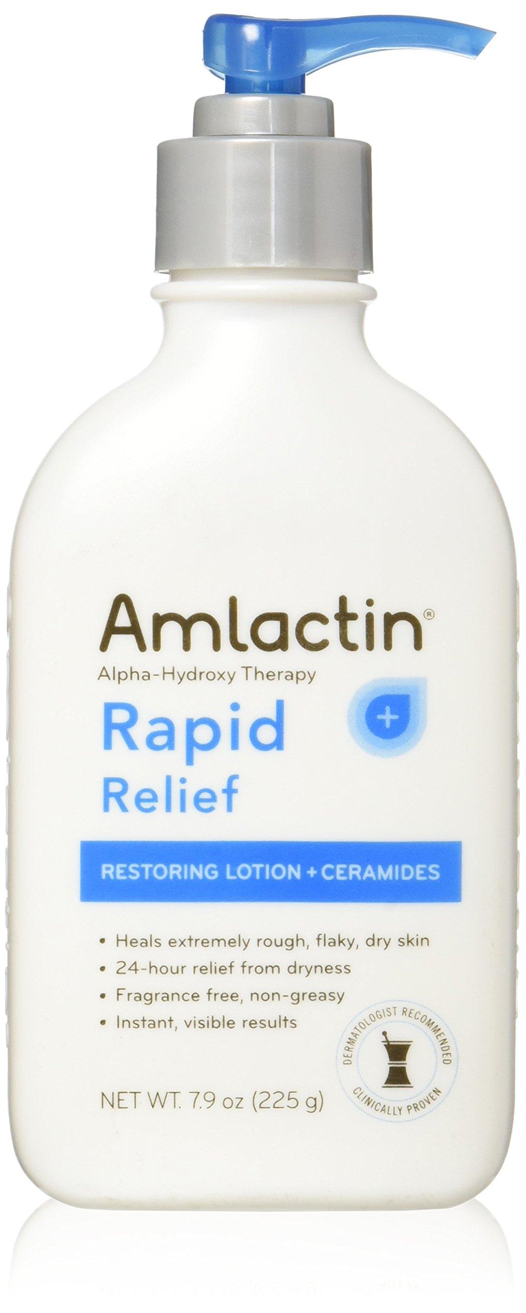 AMLACTIN Alpha-Hydroxy Ceramide Therapy Restoring Lotion, Fragrance Free 7.9 oz