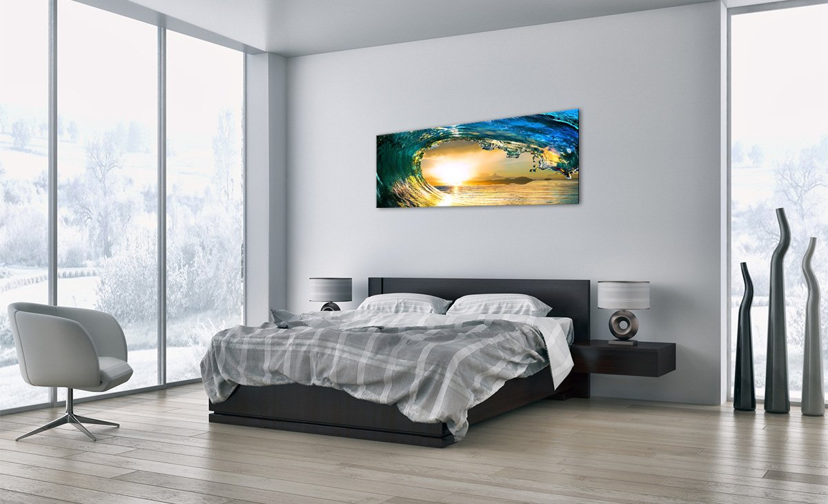 Bild auf Glas - - - Glasbilder - Einteilig - Breite  160cm, Höhe  50cm - Bildnummer 2779 - zum Aufhängen bereit - Bilder - Kunstdruck - GAB160x50-2779 1df223