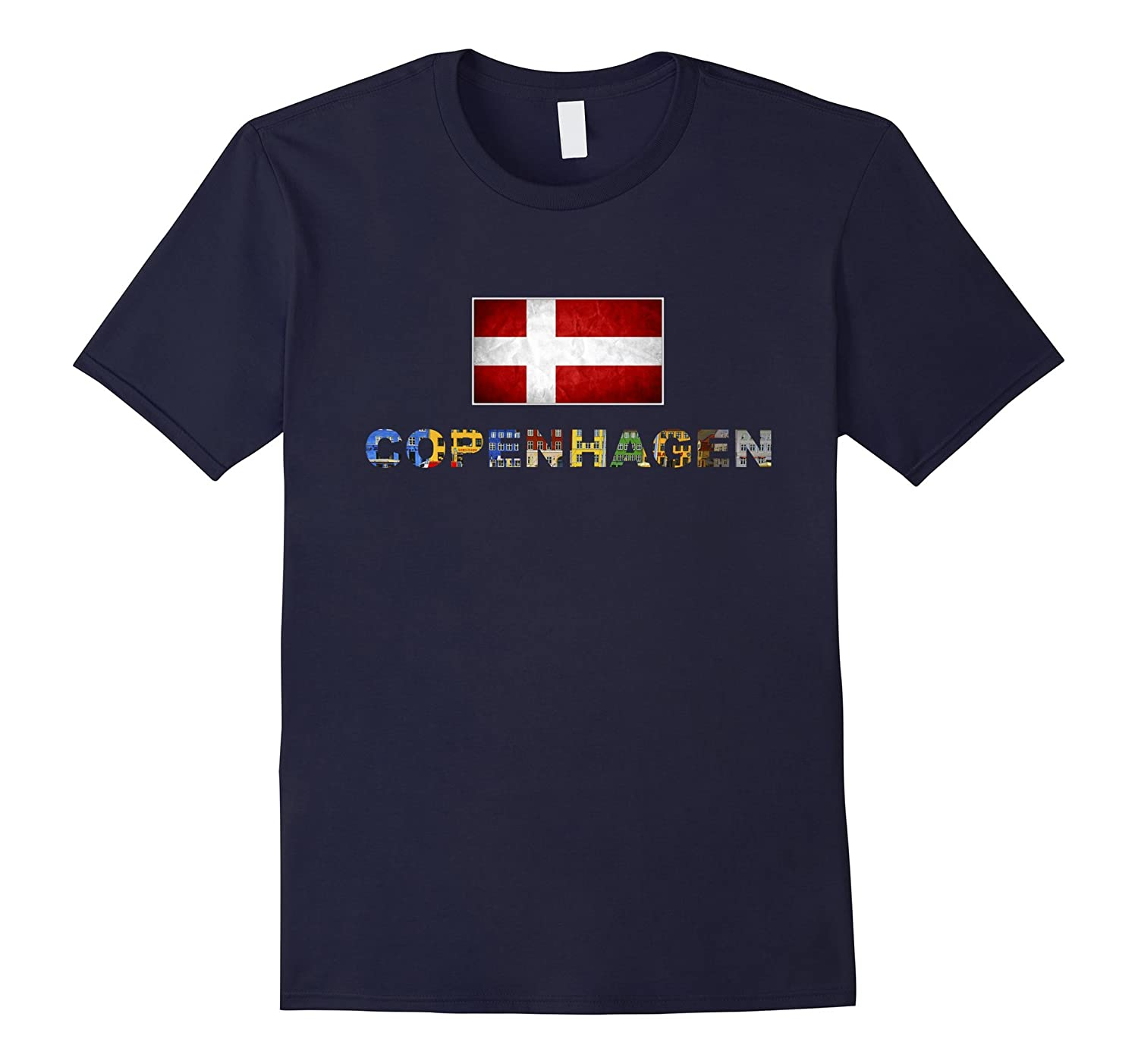 Copenhagen T-shirts Travel Souvenir for Woman Kids-FL