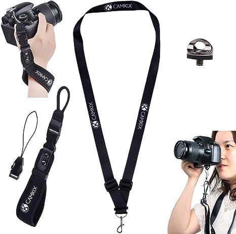 Correa de muñeca y cordón para cámaras DSLR y compactas – Extra ...