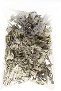 Incense Garden California White Sage Loose Leaves, Salvia Apiana Clusters, Dry Smudging & Burning Sage, 1 Ounce