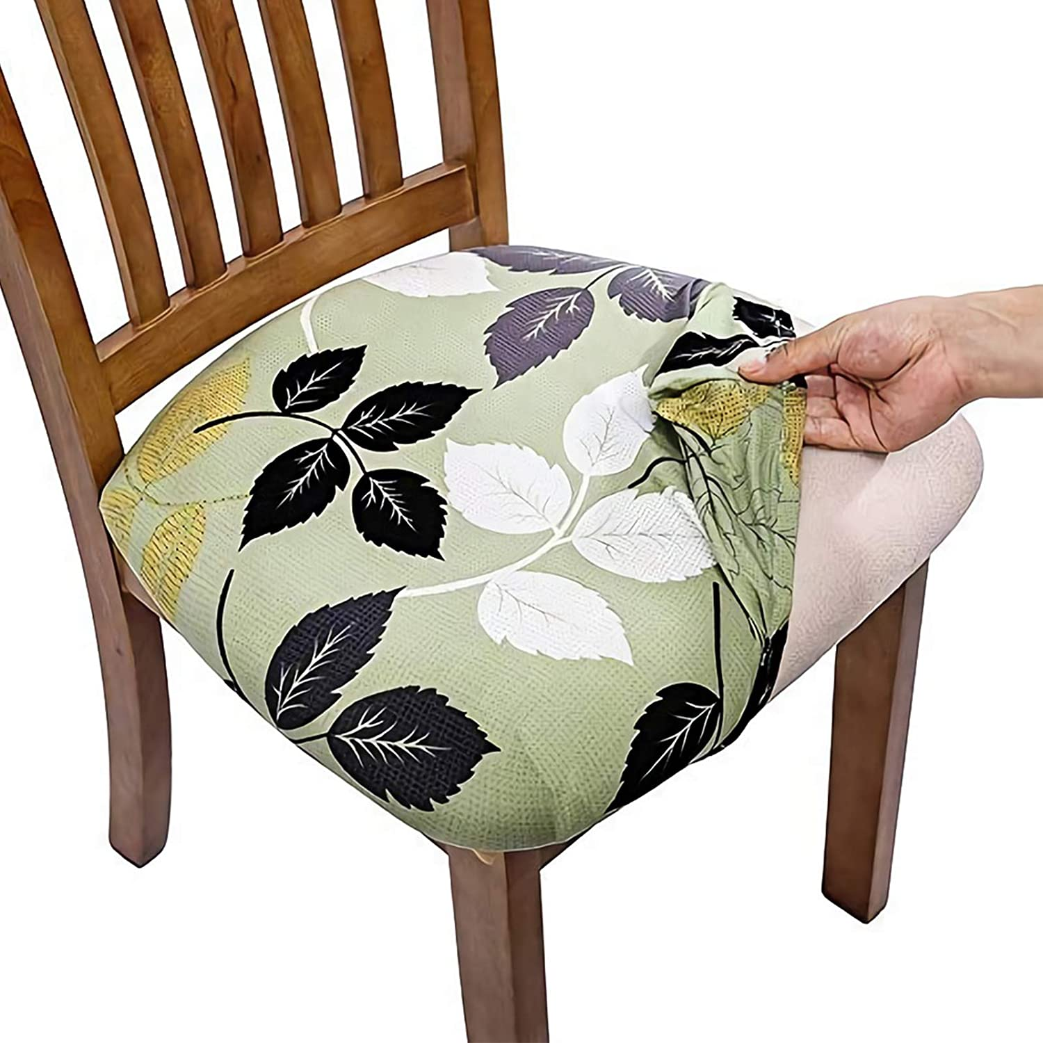 Stretch Dining Room Chair Covers Removable Washable Kitchen Chair Slipcover