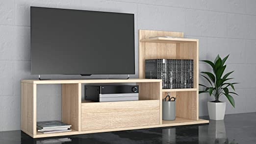 THETA DESIGN by Homemania - Mueble TV Sumatra: Amazon.es: Hogar