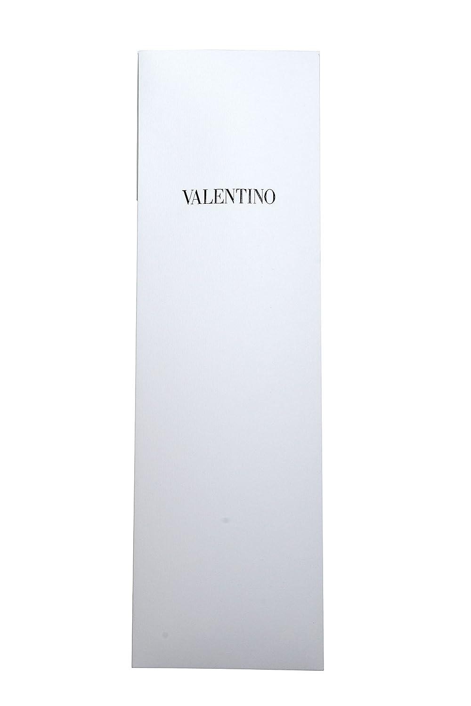 Valentino Mens 100/% Silk Gray Geometric Print Neck Tie