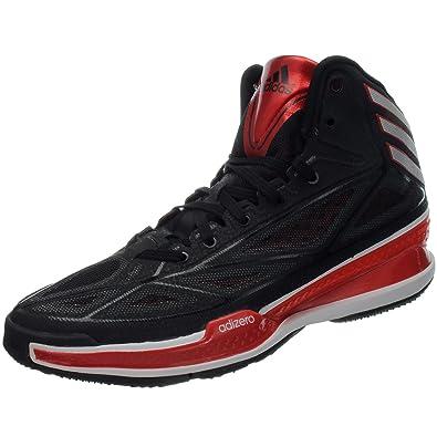 new product c9a19 d7771 adidas Adizero Crazy Light 3 g66514basketballstiefel Basket pour Homme  Noir - Noir - Noir