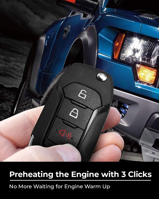 Fits Key Start and Push to Start F150 Remote Start Kit F250 F350 Remote Starter