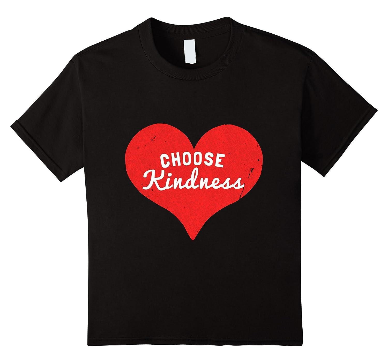 Womens Choose Kindness T Shirt Large-Tovacu