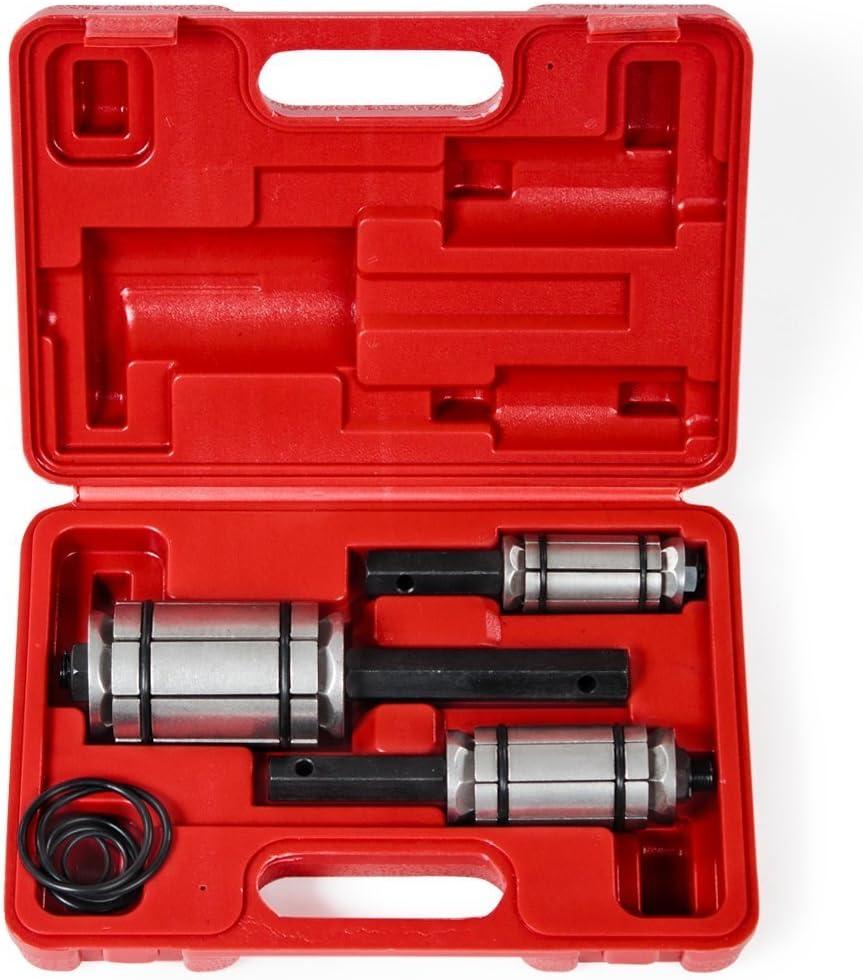 Supercrazy 1-1//8 to 3-1//2 3PCS Car Tail Pipe Expander Tool kit SF0013
