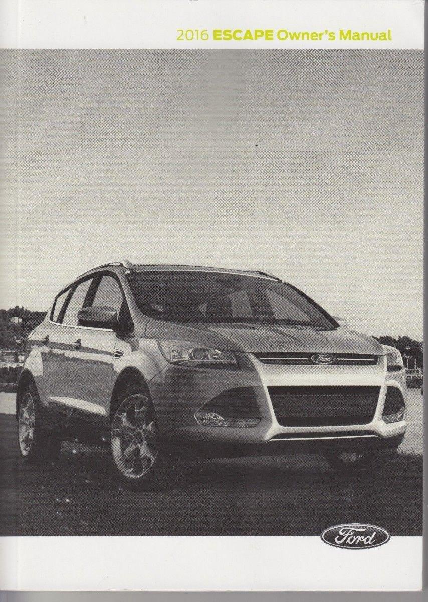 ford edge manual 2016