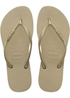 f055e0c9d Havaianas Flip Flops Women Slim Crystal Glamour Sw  Amazon.co.uk ...