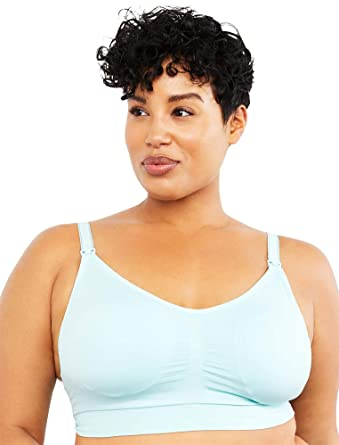 6aafc81d1f0 Motherhood Plus Size Seamless Clip Down Nursing Bra at Amazon Women s  Clothing store