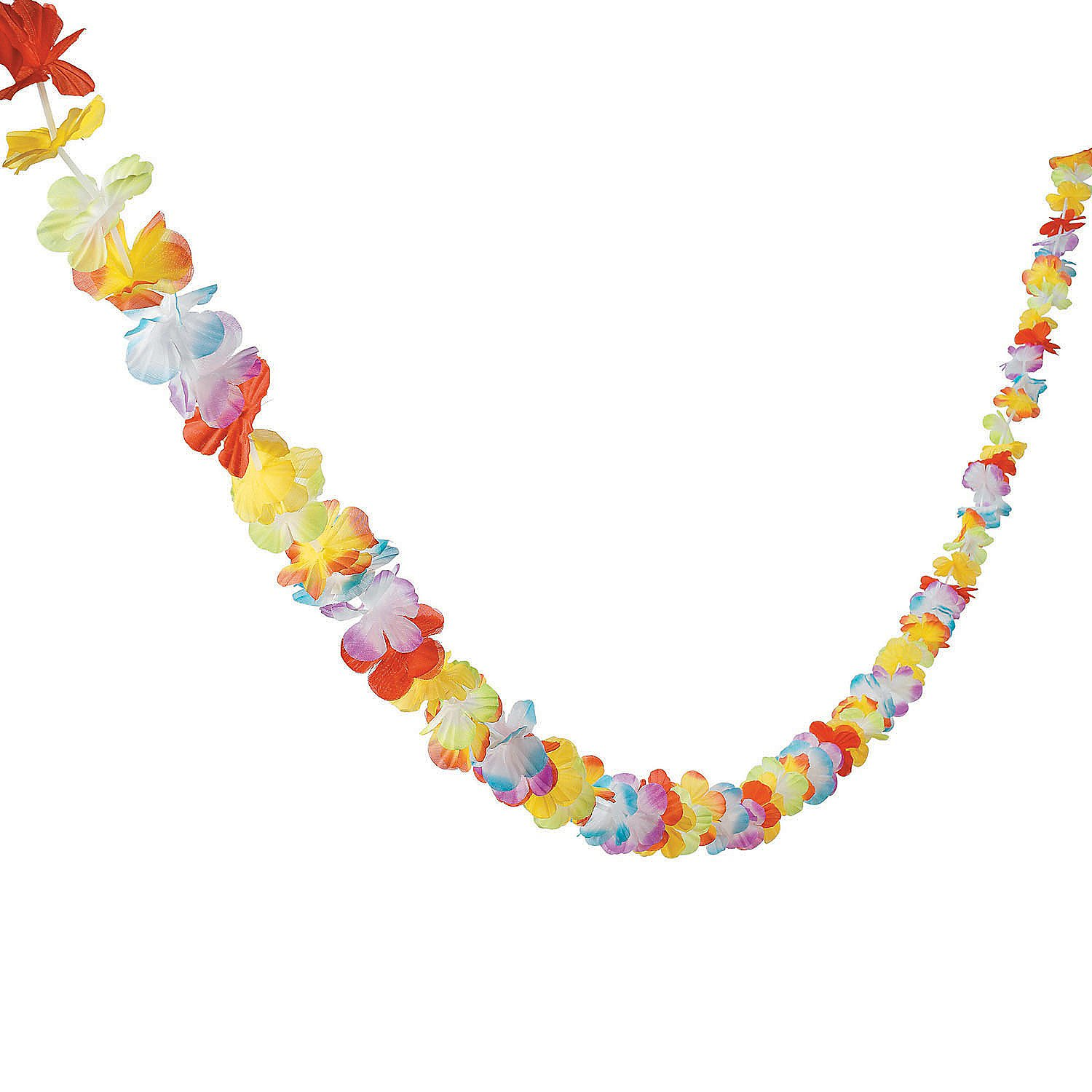 Bright Jumbo Flower Lei Garland (1 pc) by Fun Express by Fun Express