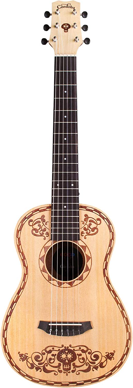 Cordoba Guitars Coco Mini SP/MH W/B - Mini classical guitar ...