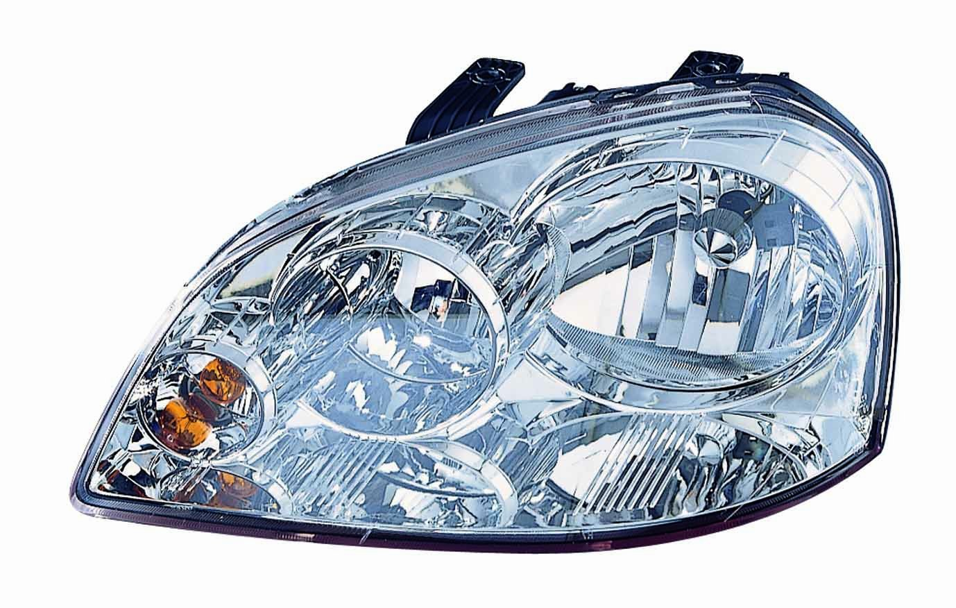 Depo 318-1108L-ASN Suzuki Forenza Driver Side Composite Headlamp Assembly with Bulb and Socket