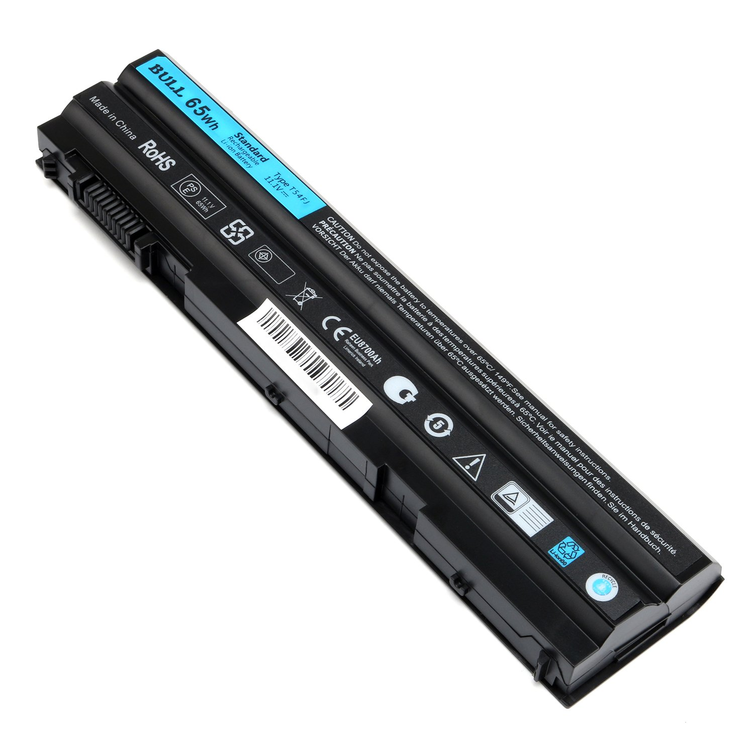 BULL-TECH 11.1V T54FJ New Laptop Battery for Dell Latitude E5420 E5520 E6420 E6520 Compatible P/N: M5Y0X 312-1163 HCJWT 7FJ92 by BULL-TECH (Image #6)