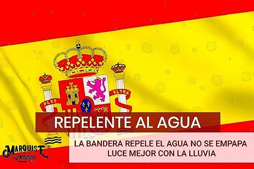 Packs 2 Banderas De España y Española Grande Súper Resistente ...