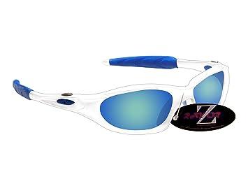 c831ec84fd Rayzor Professional Lightweight UV400 White Sports Wrap Cricket Sunglasses