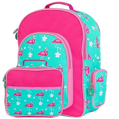 Amazon.com: ¡Yayme! Flamingo - Mochila escolar y bolsa de ...