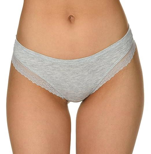 Velvet Kitten Lace Sweet Dream Thong Women s Panty Thong Underwear (Grey b640617af