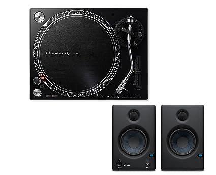 Amazon.com: Pioneer plx-500 + 2 x PreSonus Eris E4.5 ...