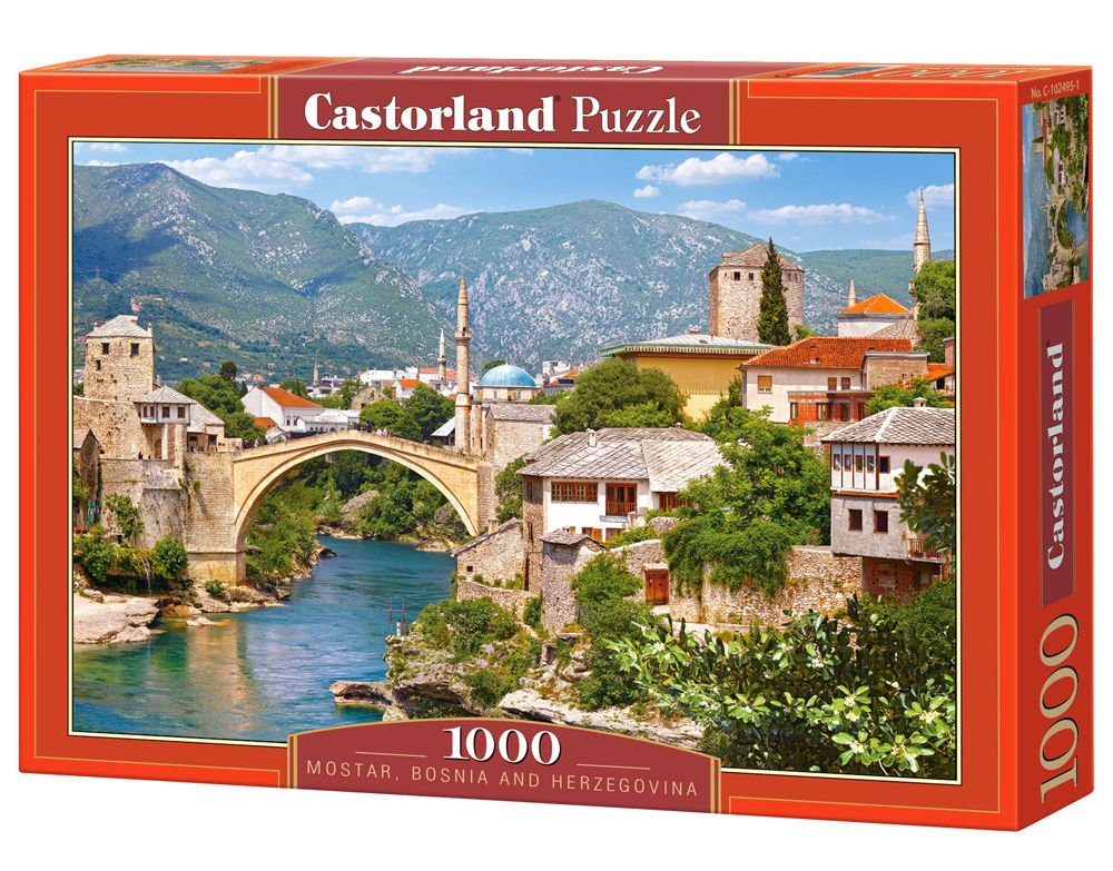 Castorland CSC102495 Hobby Panoramic Mostar Bosnia and