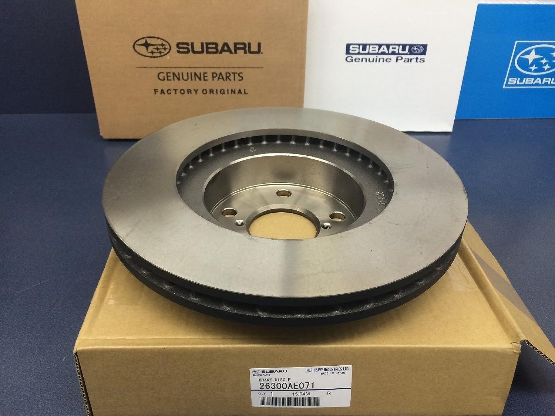2006 2007 Fit Subaru Impreza Non WRX OE Replacement Rotors w//Ceramic Pads F