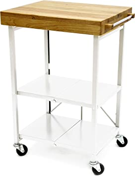 Amazon Com Origami Folding Kitchen Cart On Wheels For Chefs Outdoor Coffee Wine And Food Microwave Cart Kitchen Island On Wheels Rolling Cart Kitchen Appliance Utility Cart White Model Number