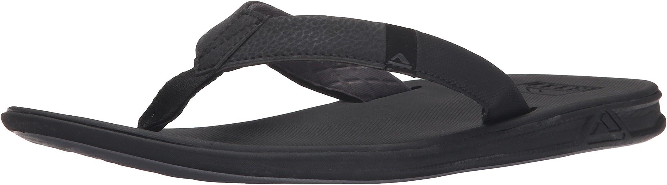 7730e514d22f Reef Men s Slammed Rover Flip Flop Black 6 M US  Amazon.ca  Shoes ...