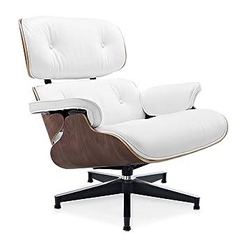 Eames Lounge Chair Weiss Amazon De Kuche Haushalt