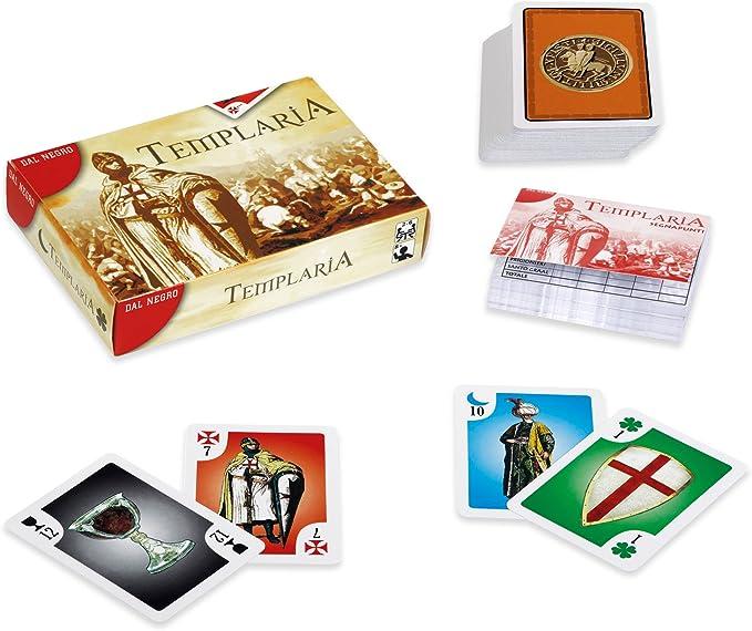 Dal Negro 53519 Templaria - Juego de Mesa (versión en Italiano) [Importado de Italia]: Amazon.es: Juguetes y juegos