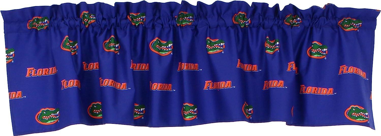 College Covers NCAA Curtain Valance Florida Gators 84 x 15