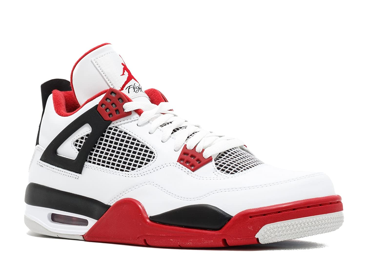 6e716b3a03607 Air Jordan 4 Retro Fire Red '2012 Release'- 308497-110 - Size 18
