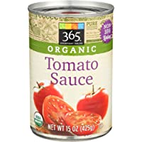 365 Everyday Value, Organic Tomato Sauce, 15 oz