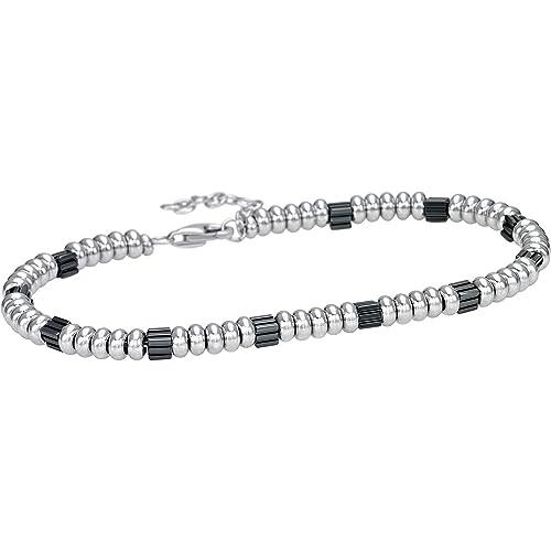 f2ce116e849c Pulsera para hombre joyas Bliss Silver Stone Casual Cod. 20071682   Amazon.es  Joyería