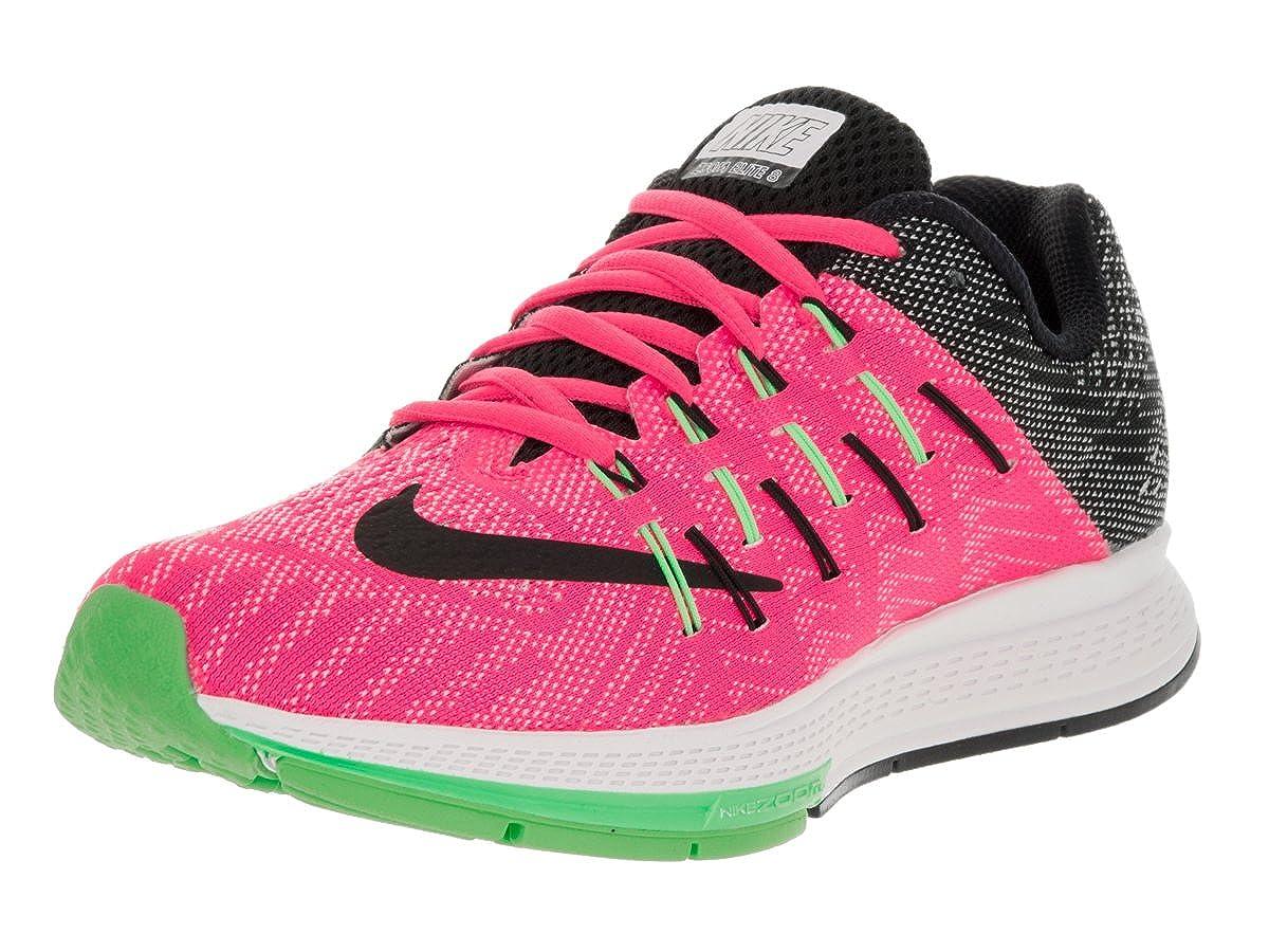 Omitido ayudar sentar  Buy Nike Women's Air Zoom Elite 8 Running Shoe Pink Blast/White/Electric  Green/Black 9 B(M) US at Amazon.in